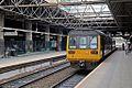 Northern Rail Class 142, 142011, platform 3, Manchester Victoria railway station (geograph 4004789).jpg