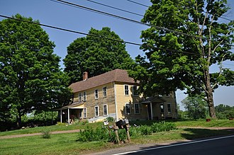 National Register of Historic Places listings in Franklin County, Massachusetts - Image: Northfield MA Simeon Alexander Jr House