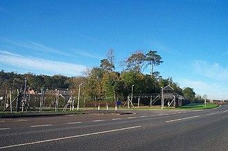 Norton Manor Camp - Current entrance to Norton Manor Camp, home of 40 Commando, Royal Marines