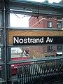 Nostrand Avenue LIRR Station; NYC Subway Signs.jpg