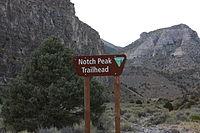 Notch Peak Utah Trailhead September 2013.JPG
