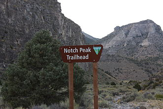 Notch Peak - Notch Peak Trailhead.