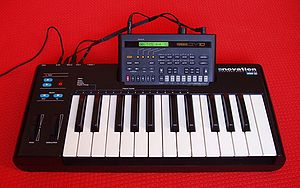 Novation Digital Music Systems - MM10 (1992) with Yamaha QY10
