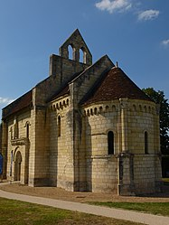 The Chapel of Saint-Lazare, in Noyers-sur-Cher