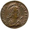 Nummus of Theodosius I (YORYM 2001 12133) obverse.jpg