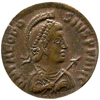 Theodosius I - Nummus of Theodosius I