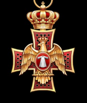 Order of the Eagle of Georgia - Sash badge of the Order