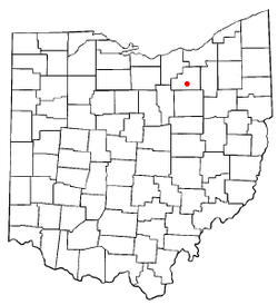 Location of Chippewa Lake, Ohio