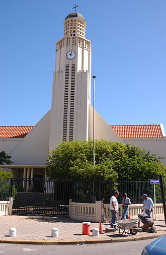 Oranjestad, Aruba - The New Protestant Church in 2004