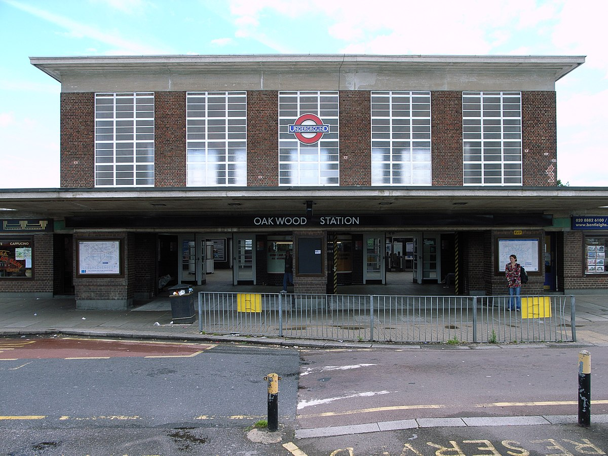 Oakwood Tube Station Wikipedia