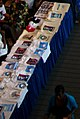 Obama merchandise table in the lobby of the Virginia State Convention (2580748434).jpg