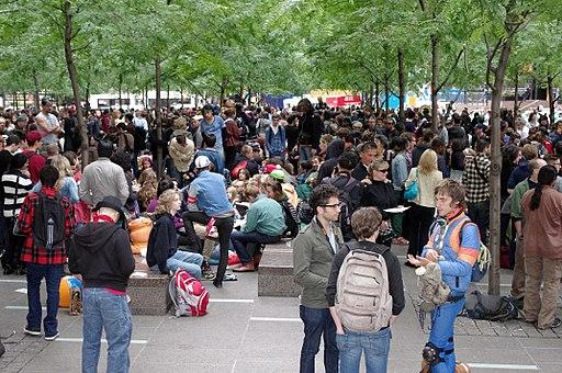Occupy Wall Street Crowd Size 2011 Shankbone
