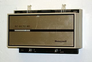 Photograph of a thermostat