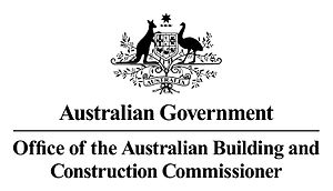 Office of the Australian Building and Construction Commissioner - Image: Office of the Australian Building and Constructin Commissioner logo