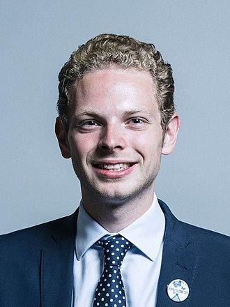 Jack Brereton - Official parliamentary portrait 2017