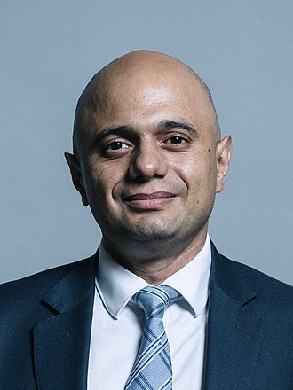Sajid Javid - Image: Official portrait of Sajid Javid MP