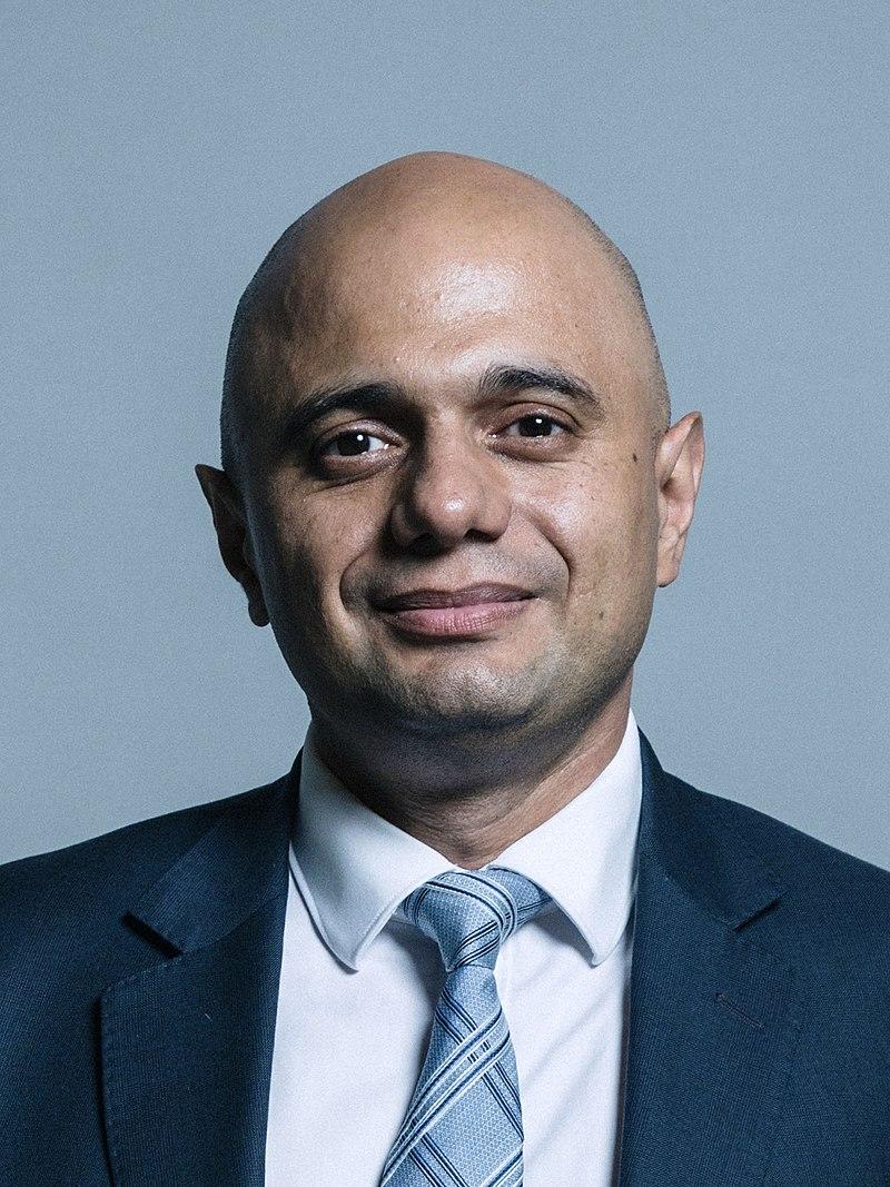 Official portrait of Sajid Javid MP.jpg
