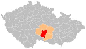 Jihlava District - Image: Okres jihlava