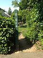 Old Croton Aqueduct Trail signpost.JPG