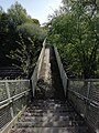 Old footbridge crossing the Styal railway line. Moss Nook, Manchester..jpg
