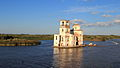 Old stone church just north of Goritsky in area that was flooded when reservoirs were built.jpg