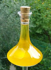 Olive oil from Imperia in Liguria, Italy.