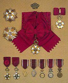 Decoration Ordre Des Grimaldi Fete Nationale Monaco