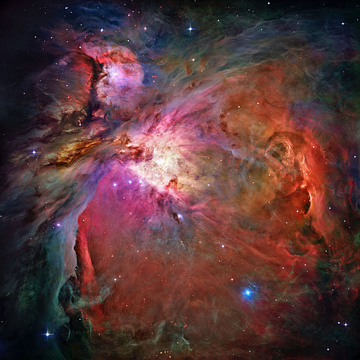 Orion Nebula - Hubble 2006 mosaic edit