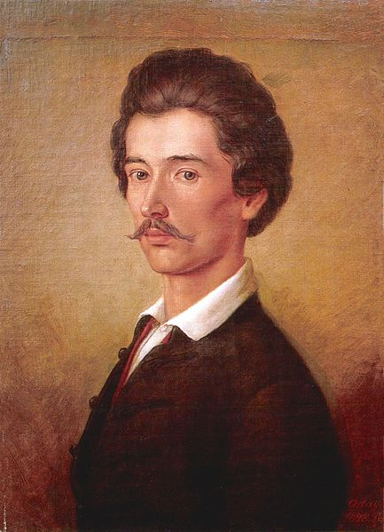 Orlai Petrich Soma: Petőfi Sándor (1840-es évek)