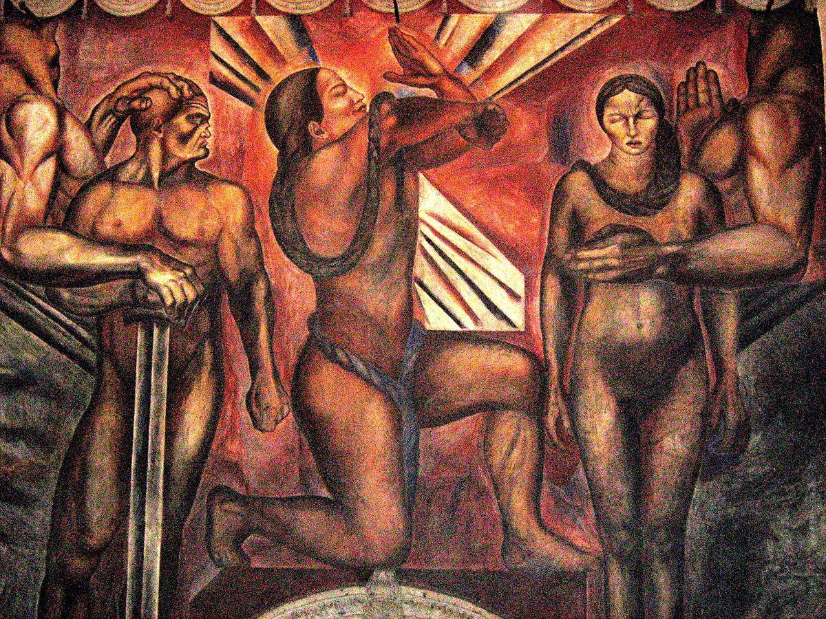 Muralisme mexicain wikip dia for Muralisme mexicain