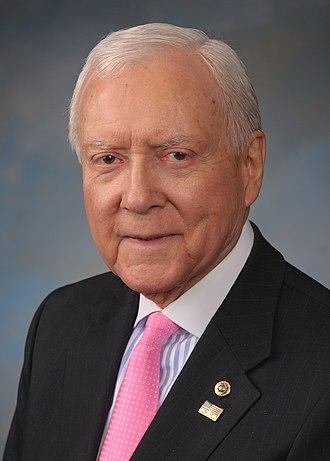 United States congressional delegations from Utah - Orrin Hatch, Utah's longest-serving senator.