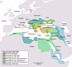 osmanska riket karta Osmanska rikets historia – Wikipedia osmanska riket karta