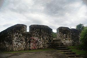 Gorontalo - Image: Otanaha Fortress