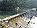Ottachi hydroelectric power station weir.jpg