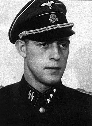 Otto Günsche - Günsche as an SS-Untersturmführer