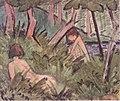 Otto Mueller - Zwei im Wald liegende Akte - ca1920.jpeg