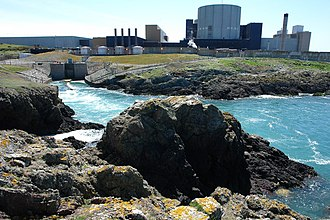 Wylfa Nuclear Power Station - Image: Outfall from Wylfa Power Station geograph.org.uk 668216