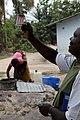 Oxfam East Africa - Oxfam engineer tests the water quality.jpg