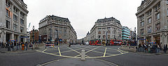 Panorama Oxford Circus, 2006