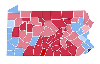 United States presidential election in Pennsylvania, 2000 - Image: PA2000(2)
