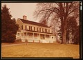 PERSPECTIVE VIEW OF SOUTH ELEVATION - John Jay House, State Route 22, Katonah, Westchester County, NY HABS NY,60-KAT,1-17 (CT).tif