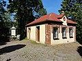 POL Bielsko-Biała Kamienica Cmentarz parafii Małgorzaty Dom przedpogrzebowy.JPG