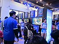 PS3 games at SCET booth, Taipei Game Show 20140126.jpg