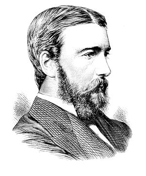 Norman Lockyer - 1873 illustration of Lockyer.