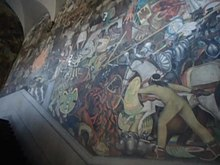 Datei:Palacio Nacional Murales Video.ogv