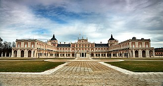 Royal Palace of Aranjuez - The wings enclosing the courtyard were added in the 18th century.