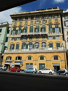 Palazzo durazzo cattaneo adorno wikipedia for Arredo bagno via gramsci genova