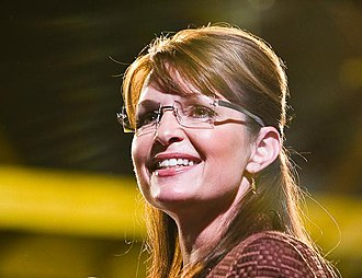 Political positions of Sarah Palin - Governor Palin campaigning in Dover, New Hampshire, October 2008