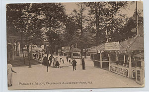 Palisades Amusement Park - Historic picture of Palisades Amusement Park