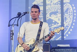 Courtney Taylor-Taylor - Performing at the Palmesus festival in 2011